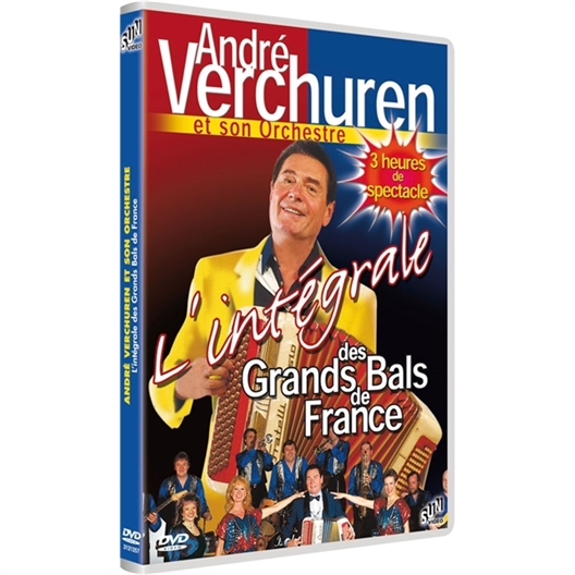 André Verchuren : Les grands bals de France