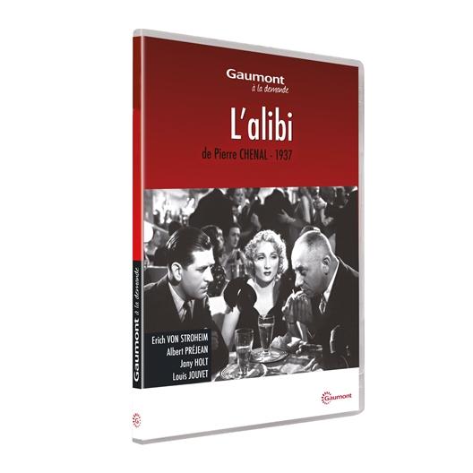 L'alibi : Louis Jouvet, Erich Von Stroheim…