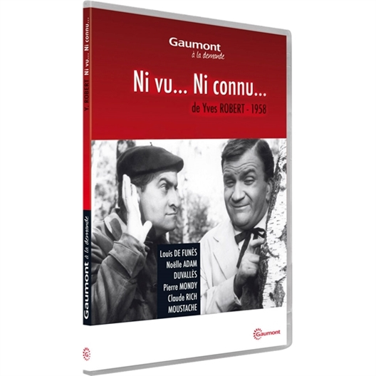 Ni vu… ni connu… : Louis de Funès, Pierre Mondy…