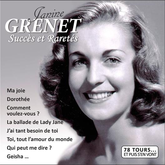 Janine Grenet : Succès et Raretés