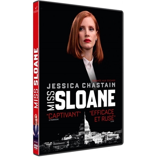 Miss Sloane : Jessica Chastain, Mark Strong…