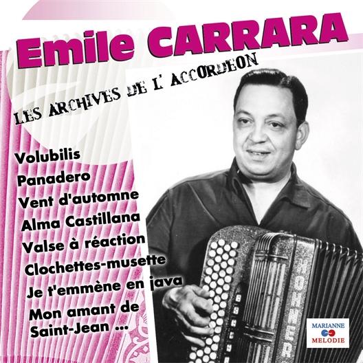 Emile Carrara : Les Archives de l'Accordéon