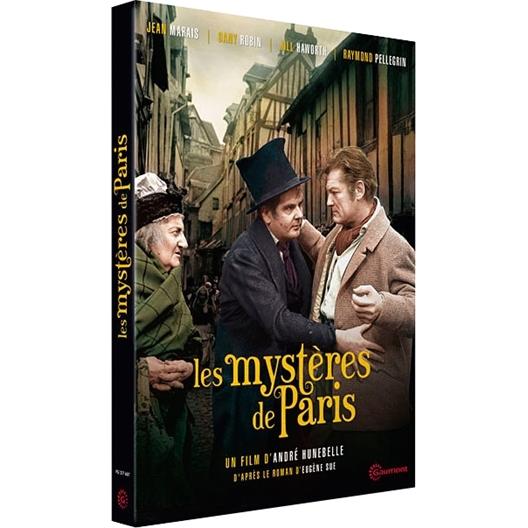 Les mystères de Paris : Jean Marais, Pierre Mondy, Dany Robin