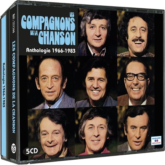 Les Compagnons de la Chanson : Anthologie 1966-1983
