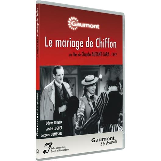 Le mariage de chiffon : Odette Joyeux, André Luguet