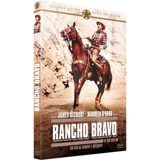 Rancho Bravo : James Stewart, Maureen O'hara…