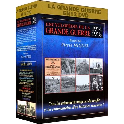 Encyclopédie de la grande guerre : 12 DVD, 12 Thématiques :