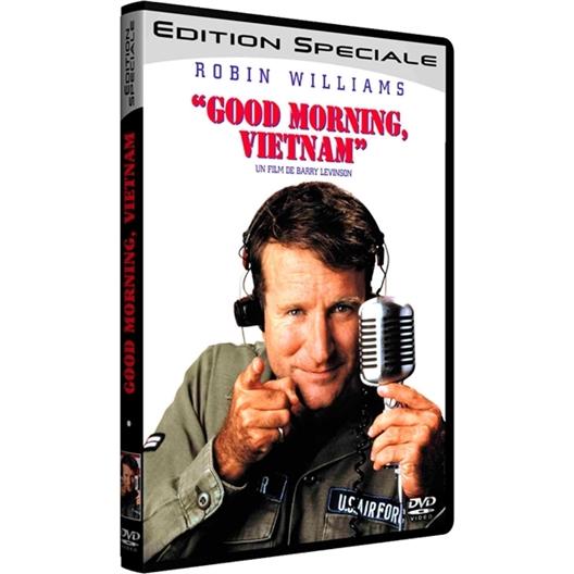 Good morning Vietnam : Robin Williams, Forest Whitaker…