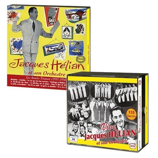"""Le lot """"Hélian"""" : 5CD Vive Jacques Hélian + CD Les années Trianon"""