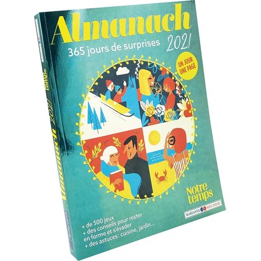 Almanach 2021 : 365 jours de surprises… et de divertissement !