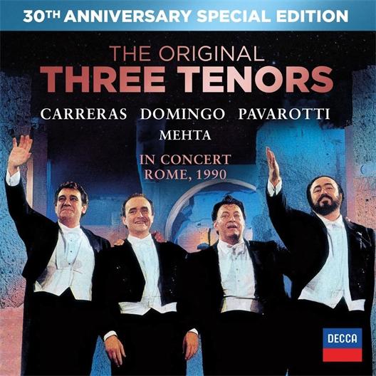 Three Tenors : Pavarotti, Carreras, Domingo