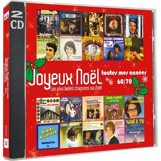 Joyeux Noël toutes mes années 60/70 (2 CD)