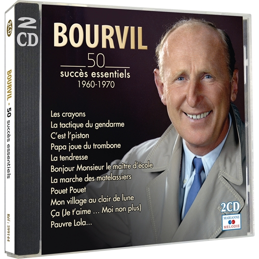 Bourvil : 50 succès essentiels 1960-1970