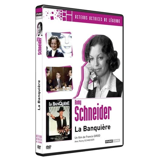 La banquière : Jean-Louis Trintignant, Romy Schneider, Claude Brasseur...