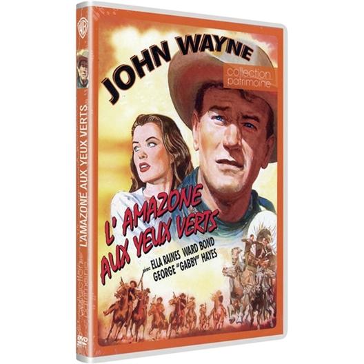 L'amazone aux yeux verts : John Wayne, Ella Raines...
