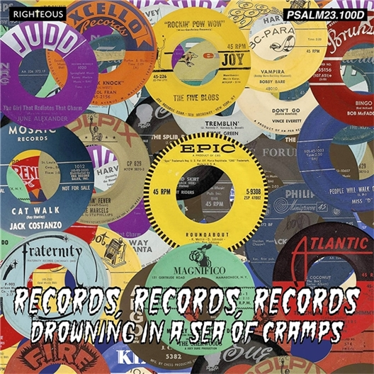 Records, Records, Records : Drowning in a sea of cramps