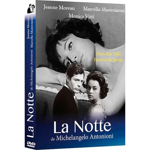 La nuit (La Notte) : Jeanne Moreau, Marcello Mastroianni…