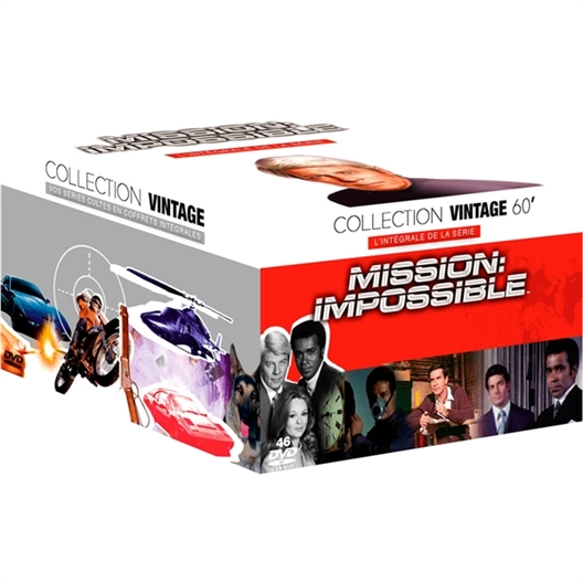 46 DVD Mission impossible 7 saisons : Peter Graves, Greg Morris…