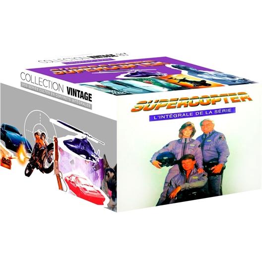 22 DVD Super copter 4 saisons : Barry Van Dyke, Anthony Sherwood…