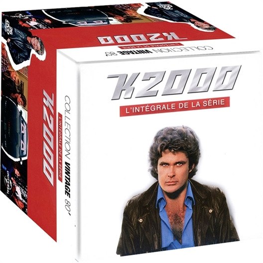 26 DVD K2000 Integrale 4 saisons : David Hasselhoff, William Daniels…