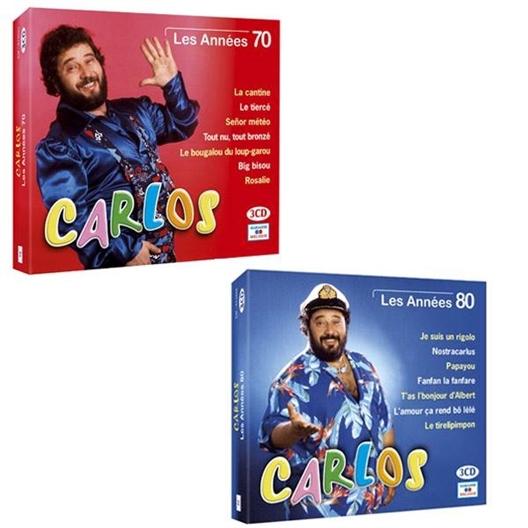 """LOT """"CARLOS"""" Les 2 Coffrets"""