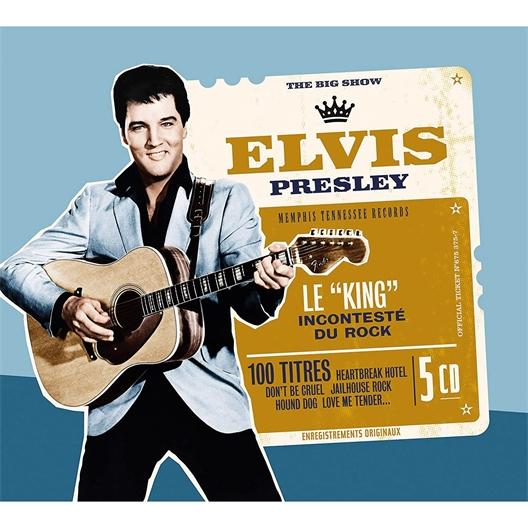 Elvis Presley : 100 titres, le King incontesté du rock