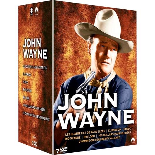 John Wayne 7 westerns : Dean Martin, Robert Mitchum...