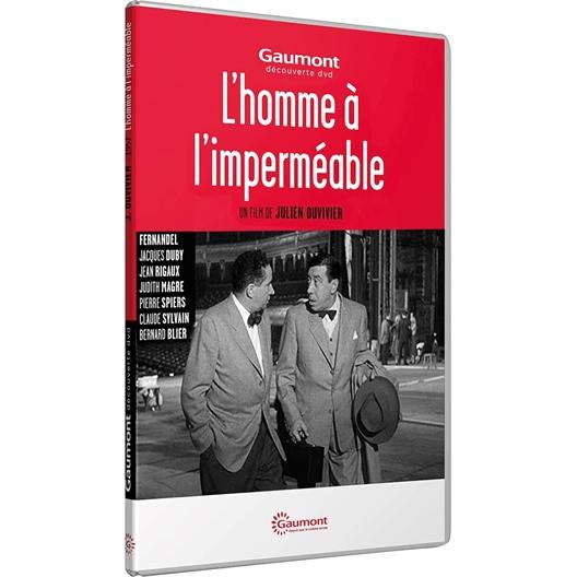 L'homme à l'imperméable : Fernandel, Bernard Blier, Jean Rigaux, ...