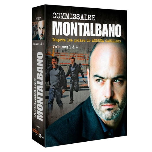 Commissaire Montalbano - Volumes 1 à 4 : Luca Zingaretti, Cesare Bocci…