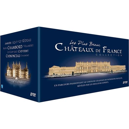 Les plus beaux châteaux de France : La collection complète des 18 châteaux (21 DVD)