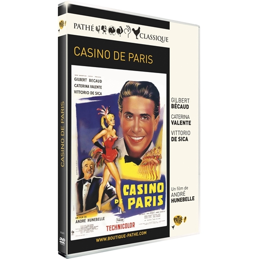 Casino de Paris : Gilbert Bécaud, Caterina Valente, Vittorio De Sica, …