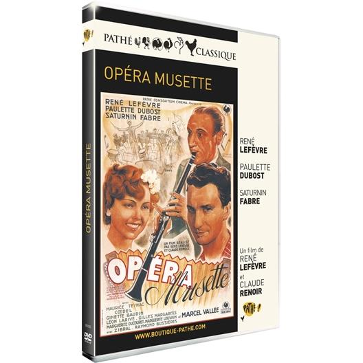 Opéra musette : Paulette Dubost, René Lefèvre, …