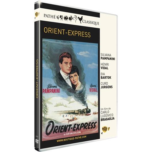 Orient Express : Henri Vidal, Eva Bartok, …