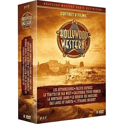 Hollywood western : Coffret 8 films