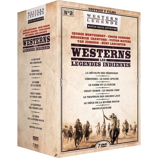 Westerns - Légendes indiennes n°2 : Coffret 7 films