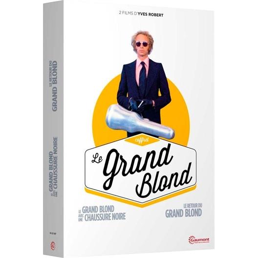 Le grand blond avec une chaussure noire et Le retour du grand blond : Pierre Richard, Bernard Blier, Jean Rochefort, Mireille Darc...