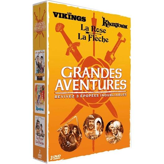 Coffret Grandes aventures : 3 épopées inoubliables