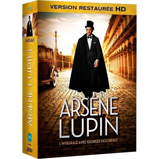 8 DVD Arsène Lupin Intégrale : Yvon Bouchard, Roger Carel…