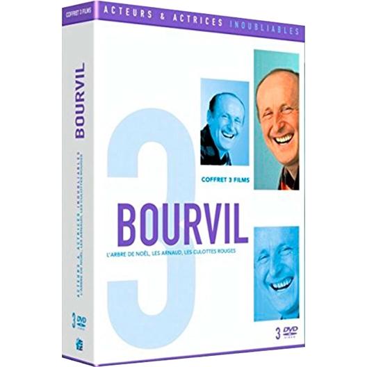 Coffret Bourvil 3 films : Virna Lisi, Adamo, Laurent Terzieff
