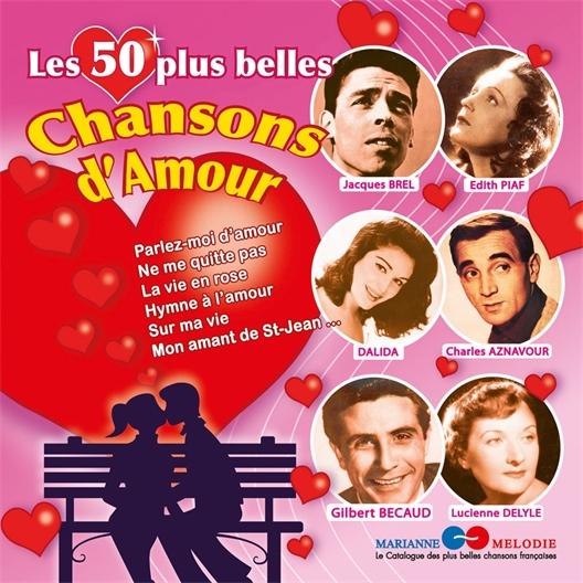 Les 50 plus belles chansons d'amour (2 CD)