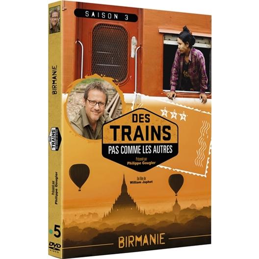 Birmanie en Train