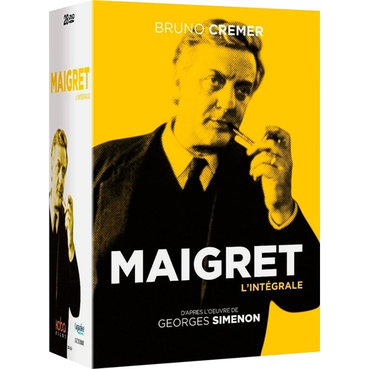 Maigret - L'intégrale : Bruno Cremer, Jean Yanne, Karin Viard...