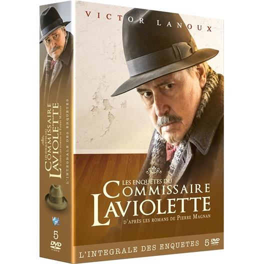 Commissaire Laviolette Intégrale : Victor Lanoux, Annie Grégorio