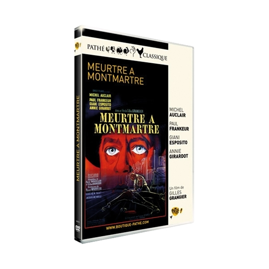 Meurtre à Montmartre : Annie Girardot, Michel Auclair, …