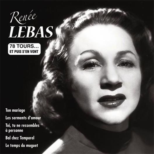 Renée Lebas : Ton mariage
