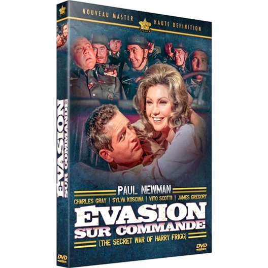 Evasion sur commande : Paul Newman, Charles Gray, Sylva Koscina…