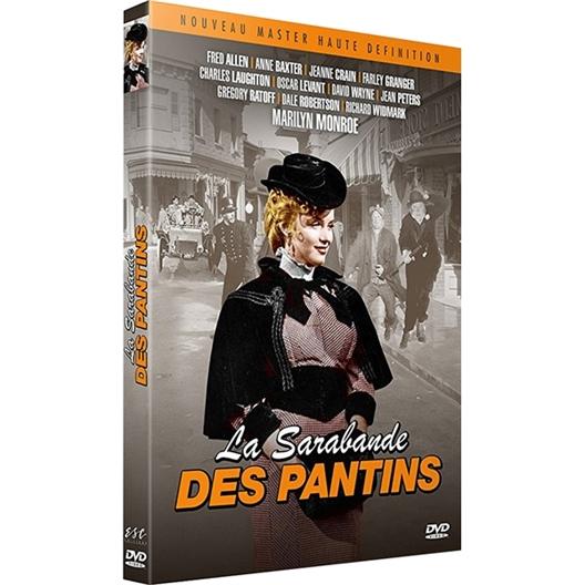 La sarabande des pantins : Anne Baxter, Jeanne Crain…