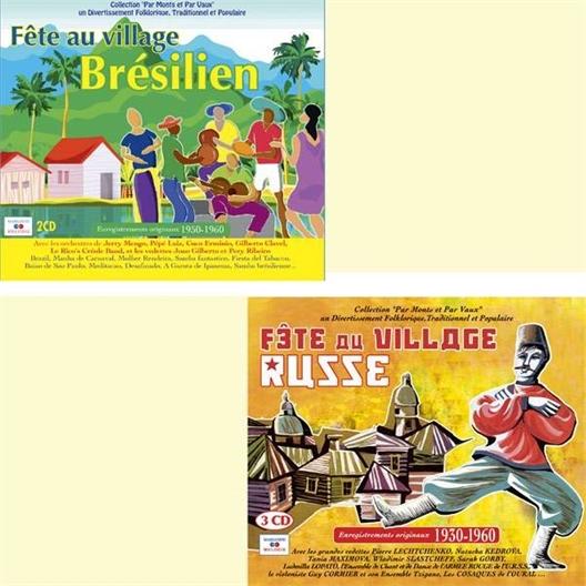 Le lot 2 albums Fête aux villages