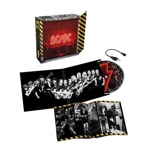 AC/DC : Power up (Light box)