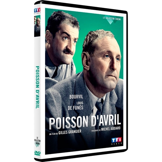 Poisson d'avril : Bourvil, Louis de Funès...
